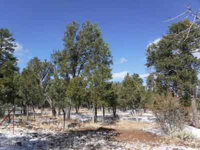 Overgaard AZ Residential Lots & Land For Sale: $65,500