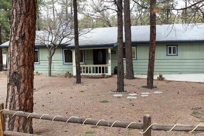 Lakeside Single Family Home For Sale: 806 W Navajo Lane
