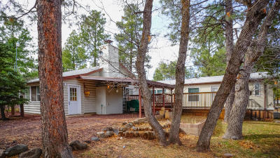 Lakeside Single Family Home For Sale: 3182 Rainbow Lake Drive