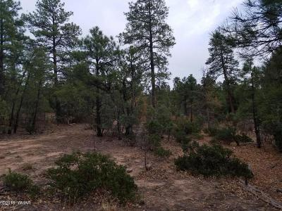 Show Low Residential Lots & Land For Sale: 3421 Redbud Lane