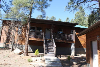 Navajo County Single Family Home For Sale: 2800 S Garretts Way