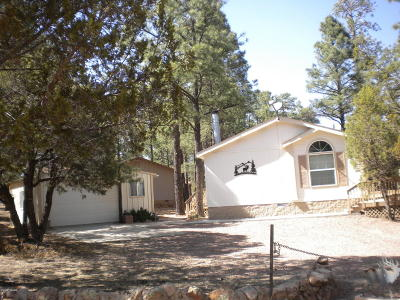 Overgaard Manufactured Home For Sale: 2849 Pine Rim Road