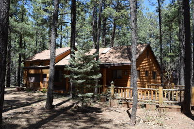Pinetop Single Family Home For Sale: 2827 Sunflower Drive