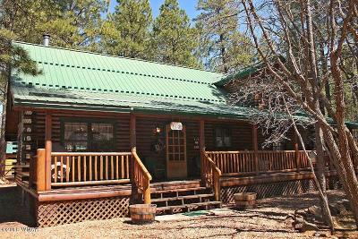 Pinetop Single Family Home For Sale: 3523 Turkey Track Road