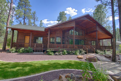 Pinetop Single Family Home Pending - Take Backup: 7856 Tall Pine Drive