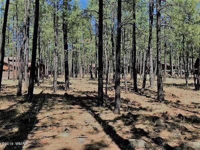 Pinetop Residential Lots & Land For Sale: 7543 Sunset Circle