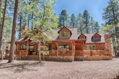 Pinetop Single Family Home For Sale: 3271 Woodpecker Lane