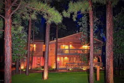 Pinetop Single Family Home For Sale: 3218 Deep Forest Drive