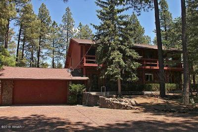 Pinetop Single Family Home For Sale: 3381 Bull Frog Loop