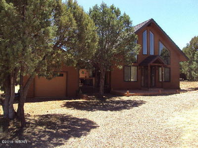 Overgaard AZ Single Family Home For Sale: $249,900