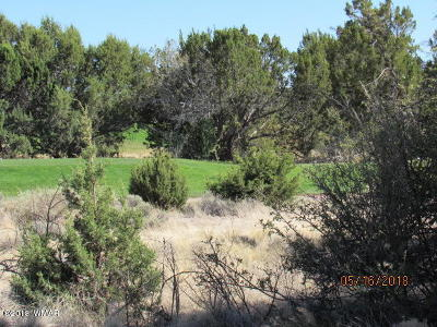 Show Low Residential Lots & Land For Sale: 8377 W Dogleg Place