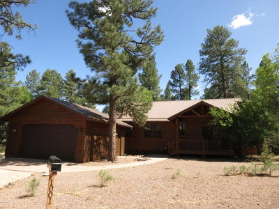 Navajo County Single Family Home For Sale: 1001 W Fir Lane