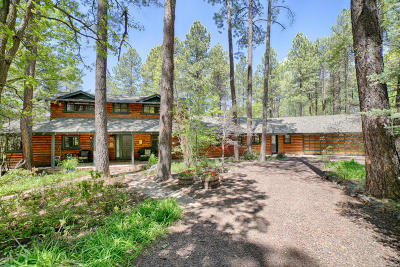 Pinetop Single Family Home For Sale: 3416 White Oak Drive