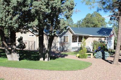 Lakeside Single Family Home For Sale: 5430 Mogollon Rim Drive