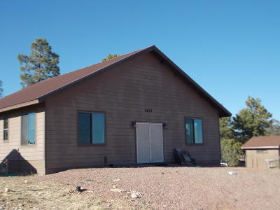 Heber AZ Single Family Home For Sale: $249,900