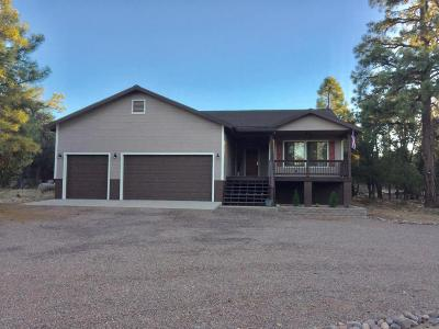 Overgaard Single Family Home For Sale: 2190 Rimview Trail