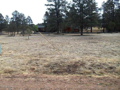 Overgaard AZ Residential Lots & Land For Sale: $59,995