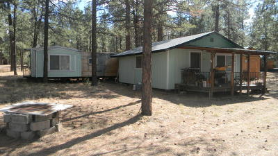Overgaard AZ Single Family Home For Sale: $89,900