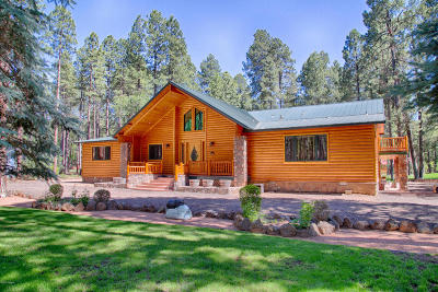 Pinetop Single Family Home For Sale: 7193 Indian Bend Road