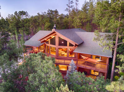 Pinetop AZ Single Family Home For Sale: $745,000