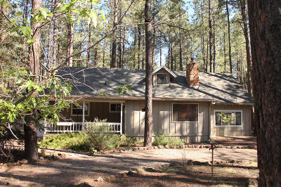 Pinetop Single Family Home For Sale: 7643 Country Club Drive