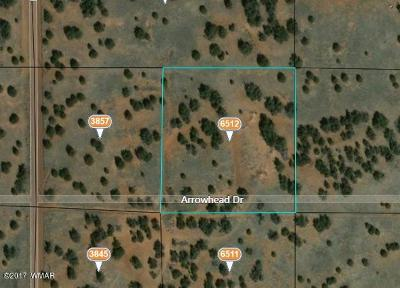 Snowflake Residential Lots & Land For Sale: 6512 Arrowhead Drive
