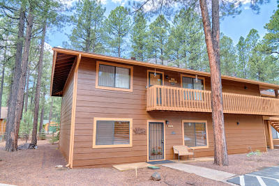 Pinetop Condo/Townhouse For Sale: 4297 Eagle Circle