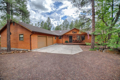 Pinetop Single Family Home For Sale: 2520 Black Bear Lane