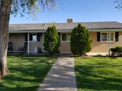 Snowflake Single Family Home For Sale: 291 S 8th Street