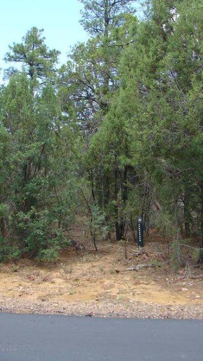 Show Low Residential Lots & Land For Sale: 3480 W Blazingstar Road