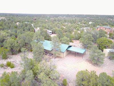 Overgaard Single Family Home For Sale: 3339 Cedar Drive