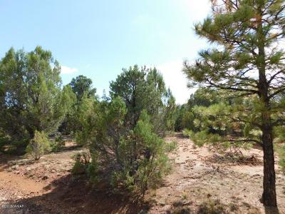 Overgaard AZ Residential Lots & Land For Sale: $49,500