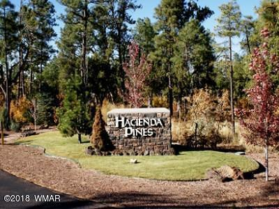 Show Low Residential Lots & Land For Sale: 1041 S Cherokee Drive
