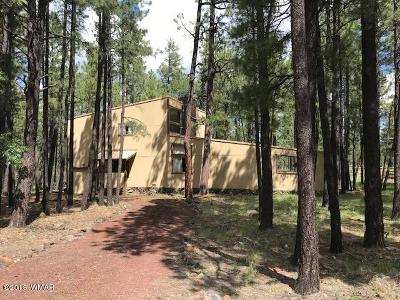 Pinetop Single Family Home Pending - Take Backup: 6961 Moon Creek Circle
