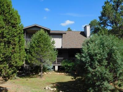 Overgaard Single Family Home For Sale: 2808 Dogleg Way