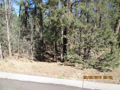 Show Low Residential Lots & Land For Sale: 4318 Antelope Lane