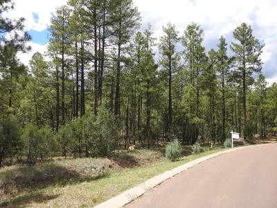 Show Low Residential Lots & Land For Sale: 2320 S Bristlecone Drive