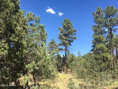 Show Low Residential Lots & Land For Sale: 640 W Sierra Pines Drive