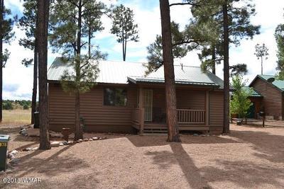 Overgaard AZ Single Family Home For Sale: $187,000
