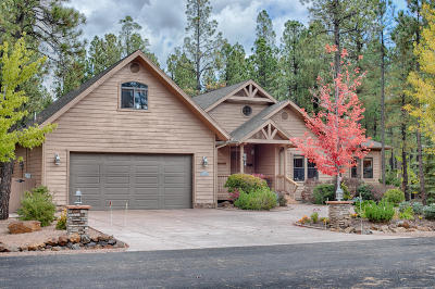 Pinetop Single Family Home For Sale: 8492 Buck Springs Road