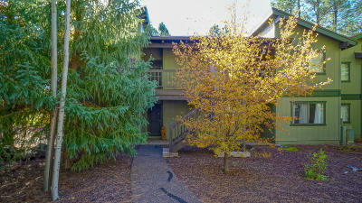 Pinetop Condo/Townhouse For Sale: 2975 Sportsman Circle
