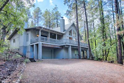Pinetop Single Family Home For Sale: 1603 E Elk Lane