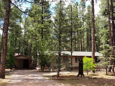 Pinetop Single Family Home For Sale: 8508 Hiawatha Trail