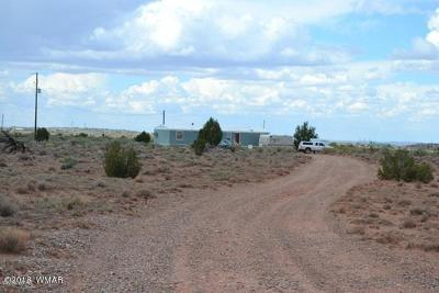Snowflake Manufactured Home For Sale: 4494 Concho Ocho Road