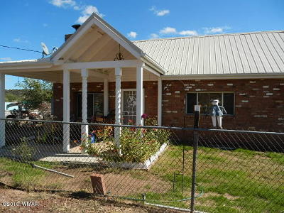 Show Low Single Family Home For Sale: 2677 Old School House Road
