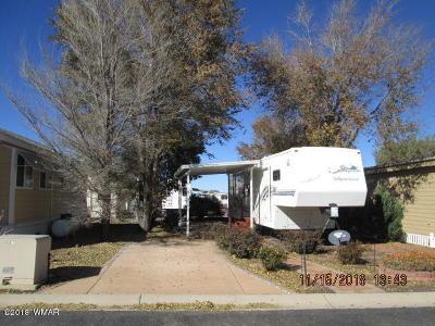 Show Low Single Family Home For Sale: 8234 E Lake Shore Drive