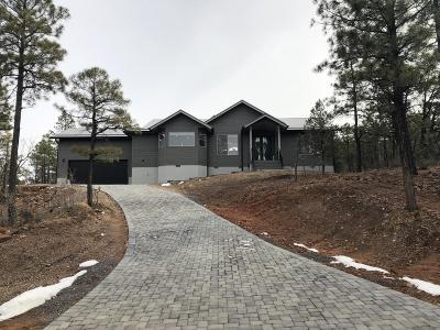Show Low Single Family Home For Sale: 1491 S Snow Creek Trail