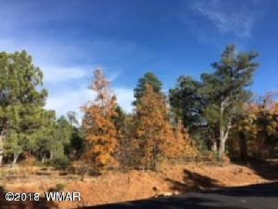 Show Low Residential Lots & Land For Sale: 61 S Lupine Lane
