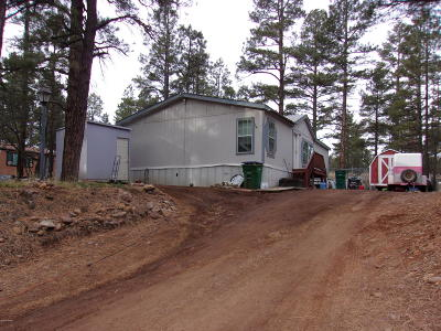 Show Low Manufactured Home For Sale: 1500 N 27th Drive