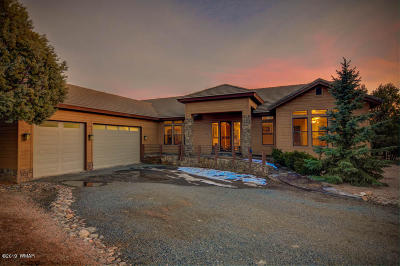 Overgaard Single Family Home For Sale: 2765 Airpark Drive
